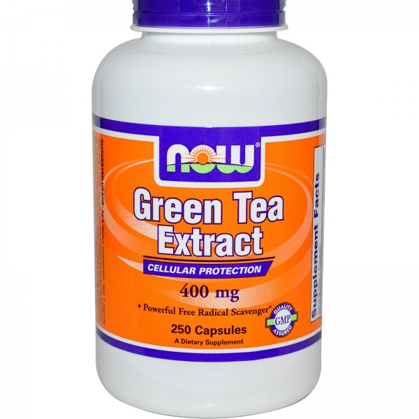NOW FOODS Green Tea Extract 60% 400 mg