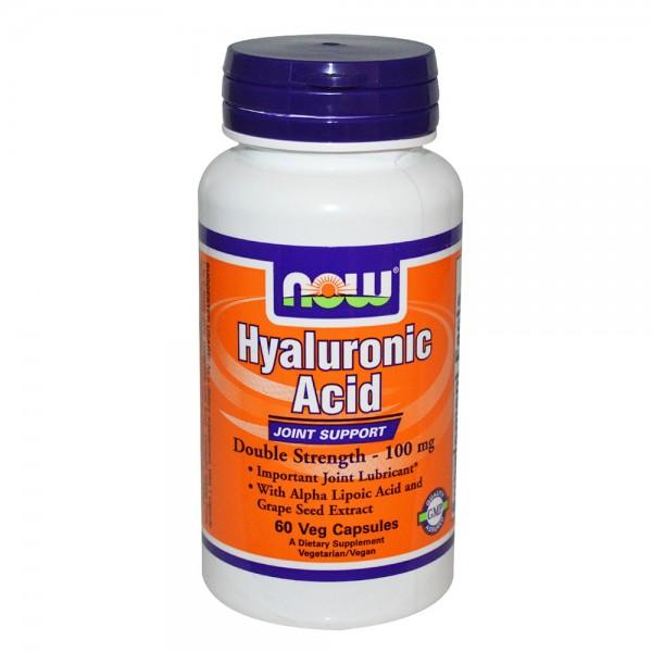NOW FOODS Hyaluronic Acid 100 mg