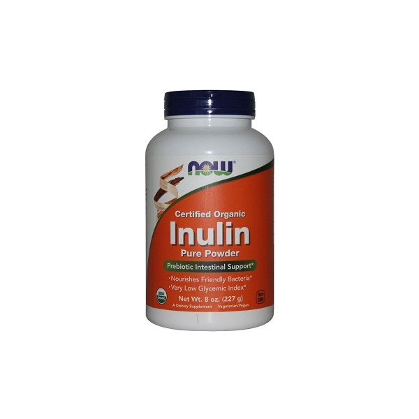 NOW FOODS Inulin Powder Pure FOS