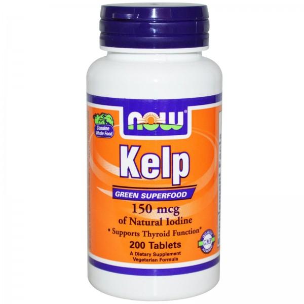 NOW FOODS Kelp 150 mg