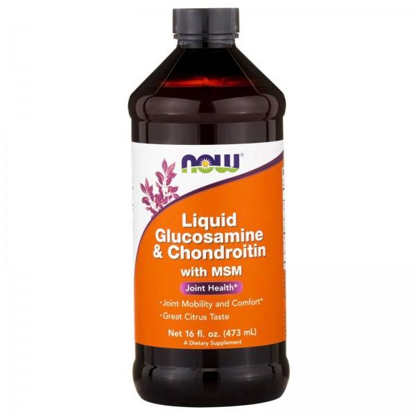 NOW FOODS Liquid Glucosamine & Chondrotine