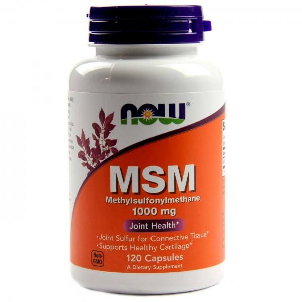 NOW FOODS MSM 1000 mg