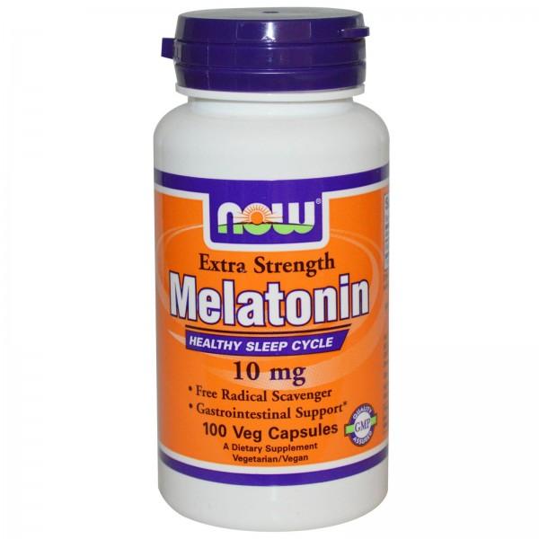 NOW FOODS Melatonin 10 mg
