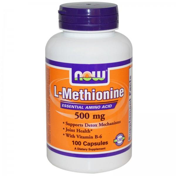 NOW FOODS Methionine 500 mg