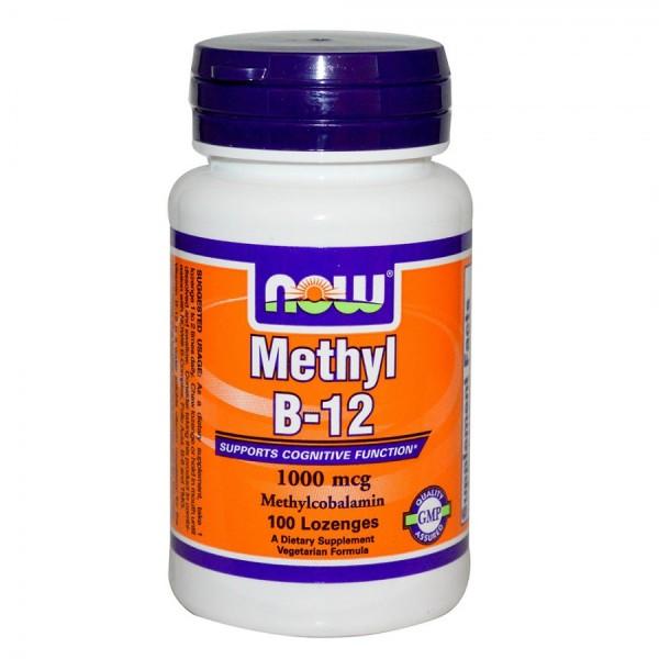 NOW FOODS Methyl B12 1000 mg