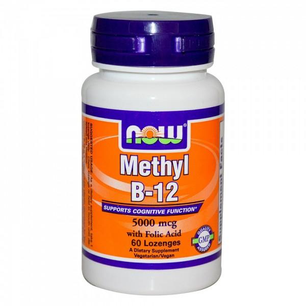 NOW FOODS Methyl B12 5000 mg