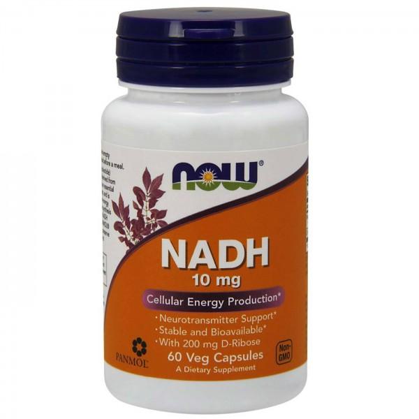 NOW FOODS NADH 10 mg & 200 mg Ribose