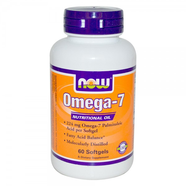 NOW FOODS Omega 7  224 mg