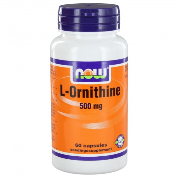 NOW FOODS Ornithine 500 mg