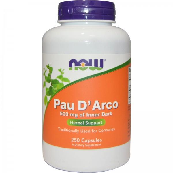 NOW FOODS Pau D`Arco 500 mg