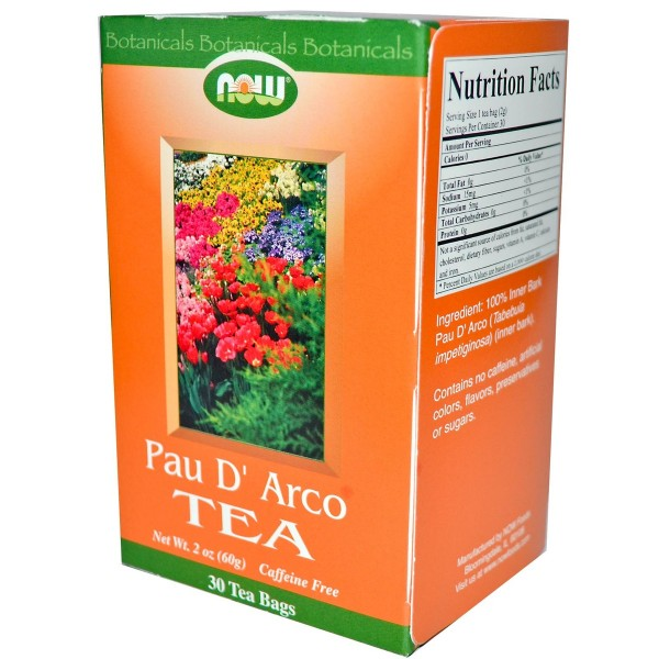 NOW FOODS Pau D`Arco Tea