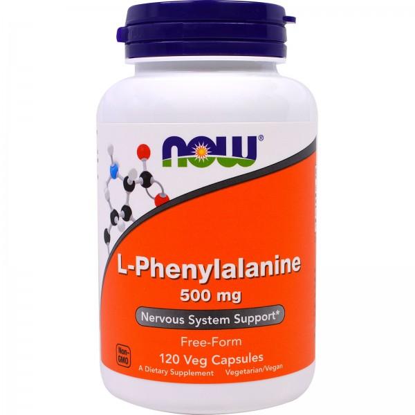 NOW FOODS Phenylalanine 500 mg