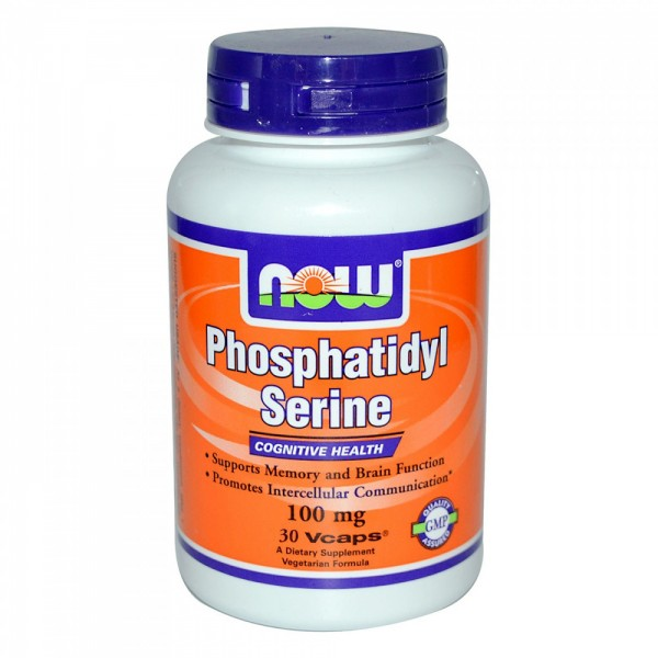 NOW FOODS Phosphatidyl Serine 100 mg