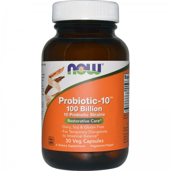 NOW FOODS Probiotic-10 100 Billion