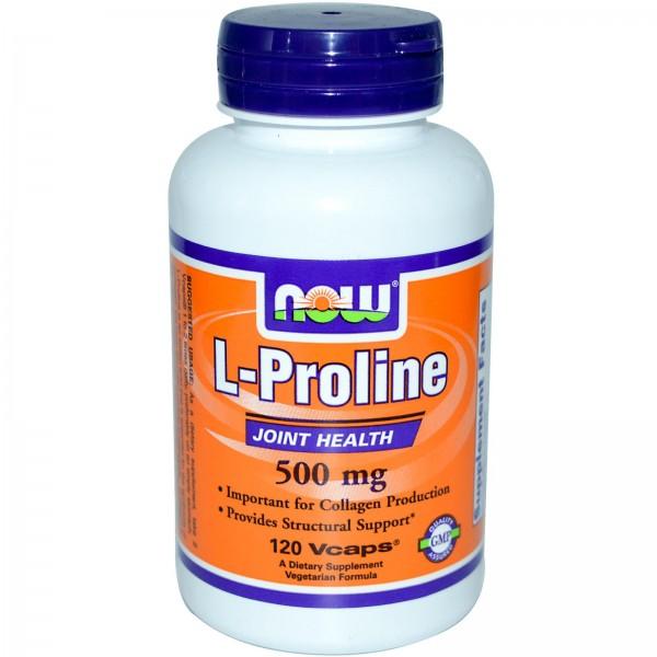 NOW FOODS Proline 500 mg