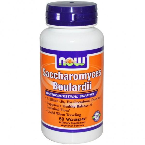 NOW FOODS Saccharomyces Boulardi