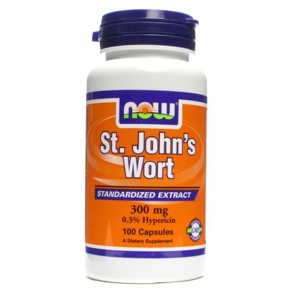 NOW FOODS St. John's Wort 300 mg