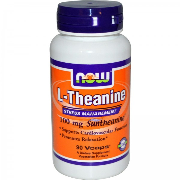 NOW FOODS Theanine 100