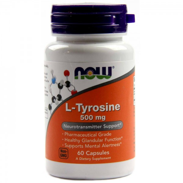 NOW FOODS Tyrosine 500 mg
