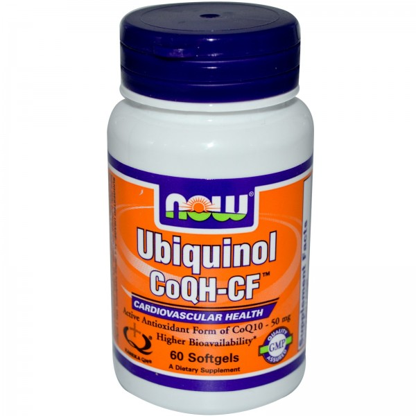 NOW FOODS Ubiquinol CoQH-CF