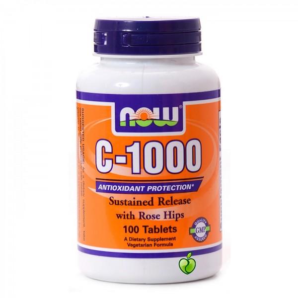 NOW FOODS  Vitamin C-1000 No SR