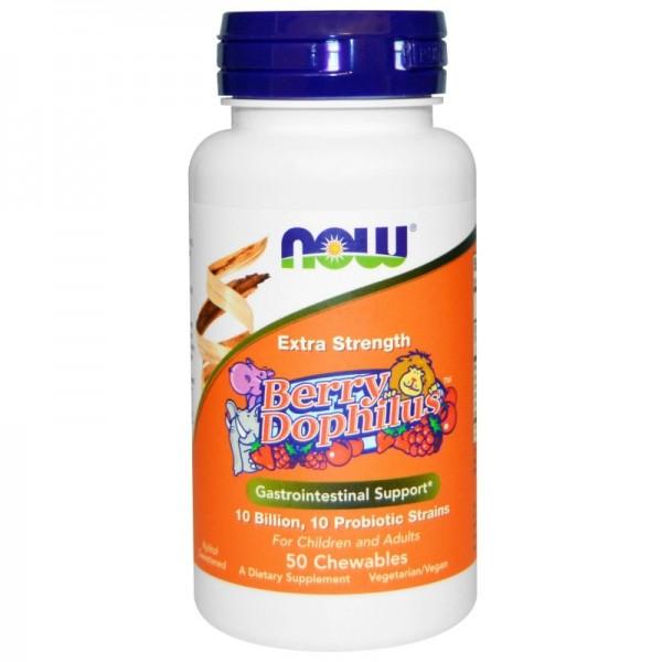 NOW FOODS Berrydophilus Extra Strength