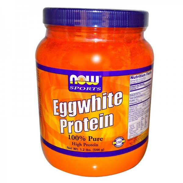 NOW FOODS Eggwhite Protein Unflavored