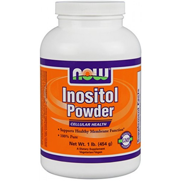 NOW FOODS Inositol Pure Powder