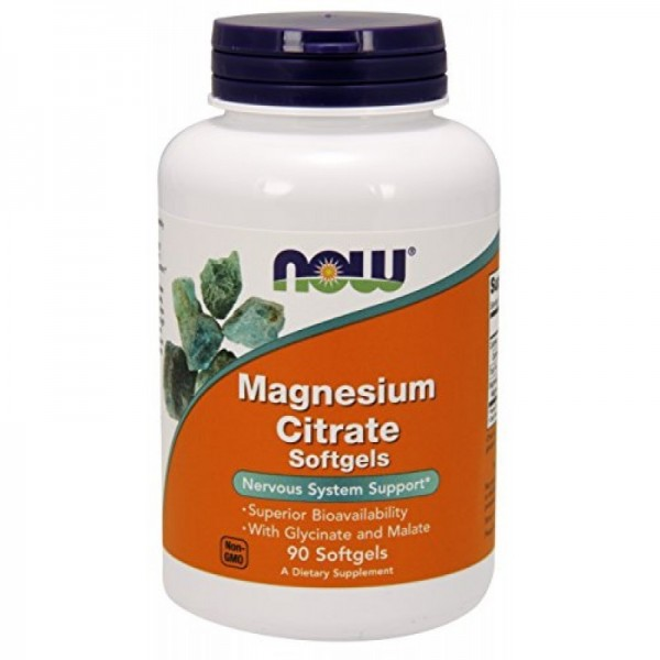 NOW FOODS Magnesium Citrate 134 mg
