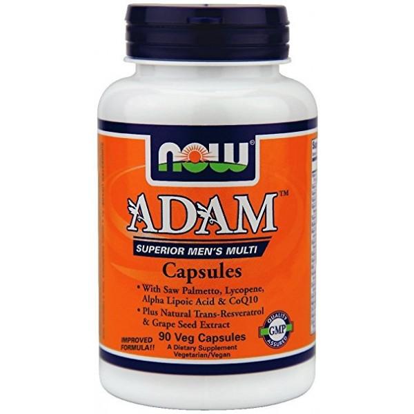 NOW FOODS ADAM Men's Vitamins caps