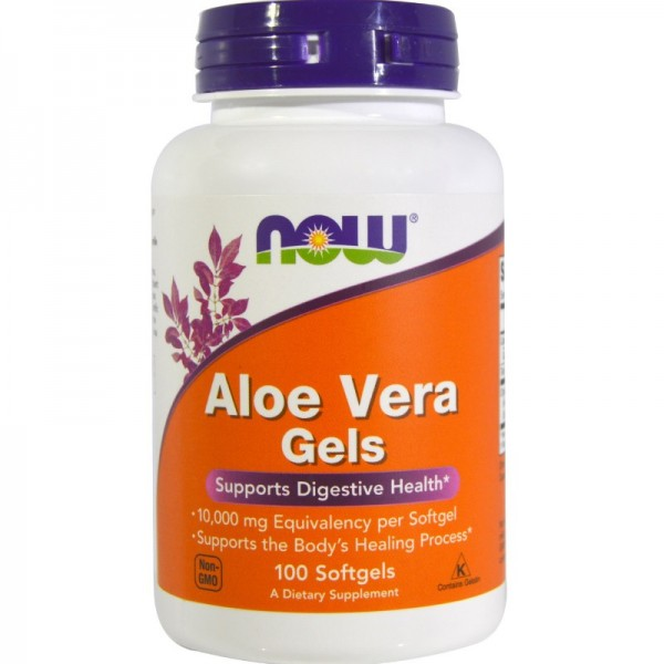 NOW FOODS Aloe Vera 5000 mg softgels