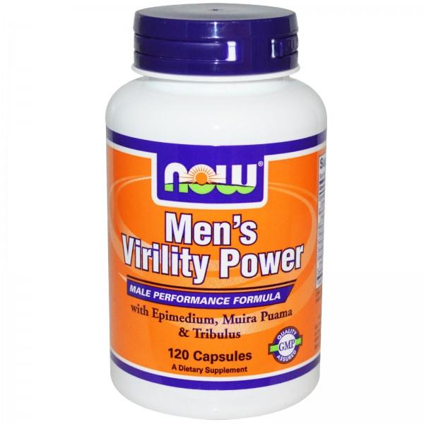 NOW FOODS Mens Virility Power