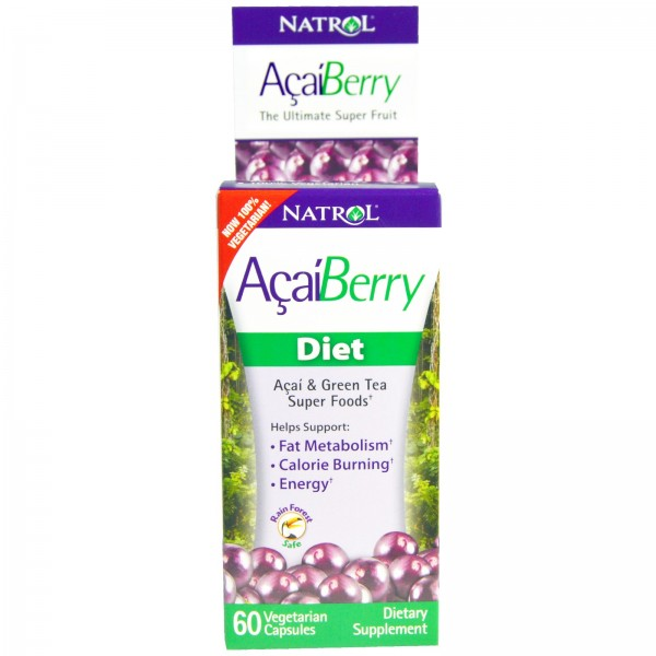 NATROL AcaiBerry Diet 500mg