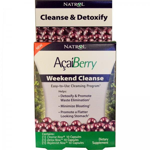 NATROL Acai Berry Weekend Cleanse