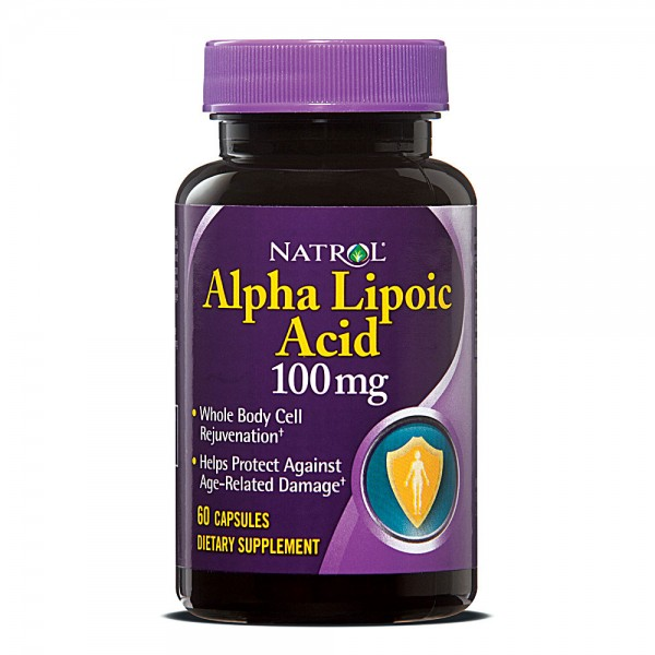 NATROL Alpha Lipoic Acid 100mg