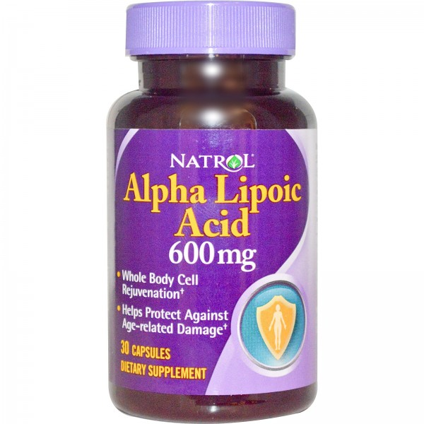 NATROL Alpha Lipoic Acid 600mg - Time Release