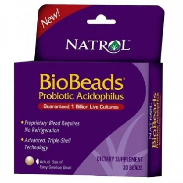 NATROL BioBeadsTM Probiotic Acidophilus