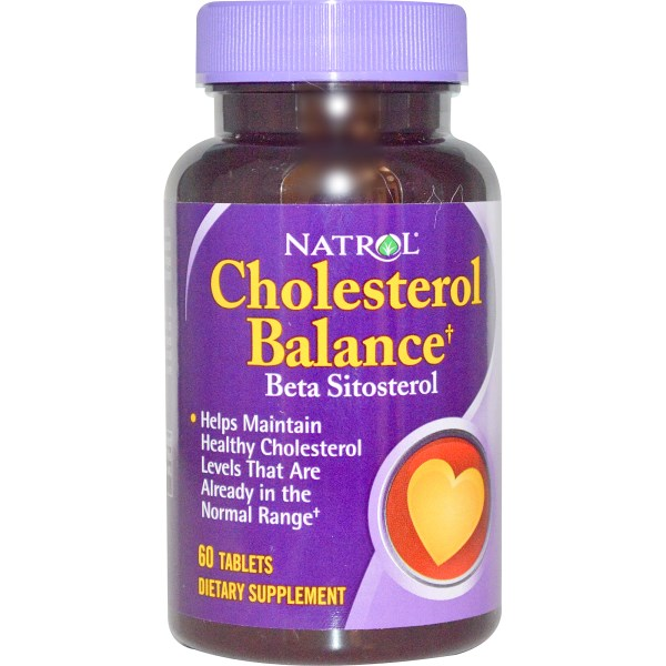 NATROL Cholesterol Balance Beta Sitosterol