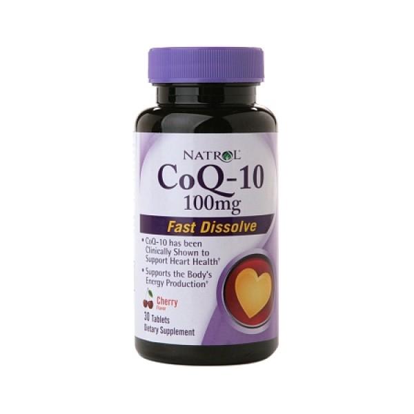 NATROL CoQ-10 100mg - Fast Dissolve