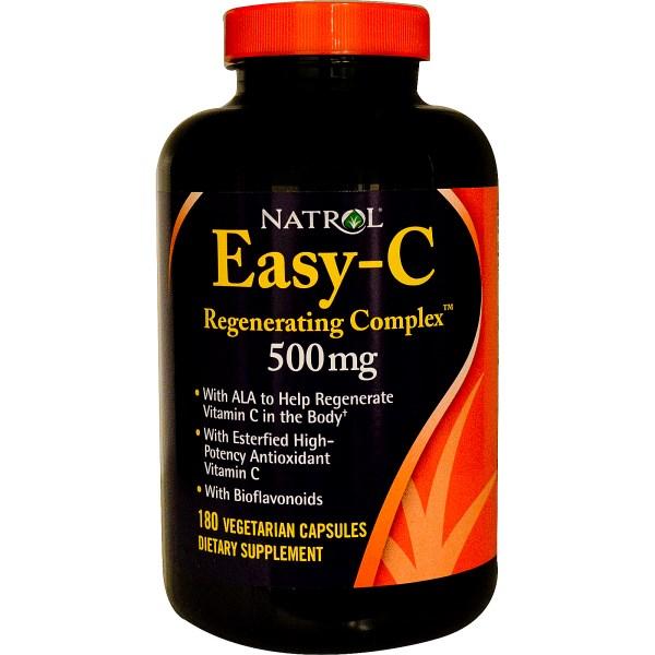 NATROL Easy-C 500mg + Citrus Bios + B + Zinc - Time Release