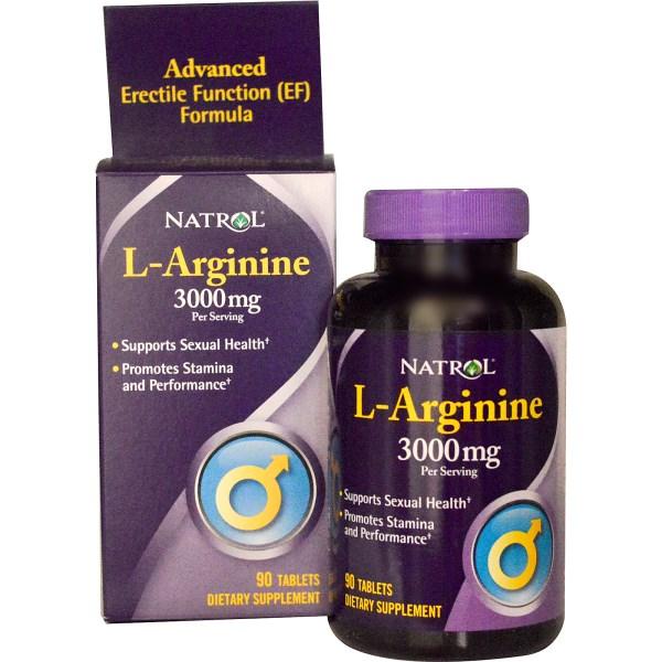 NATROL L-Arginine 3000mg