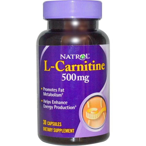NATROL L-Carnitine 500mg