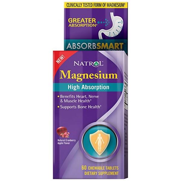 NATROL Magnesium - High Absorption