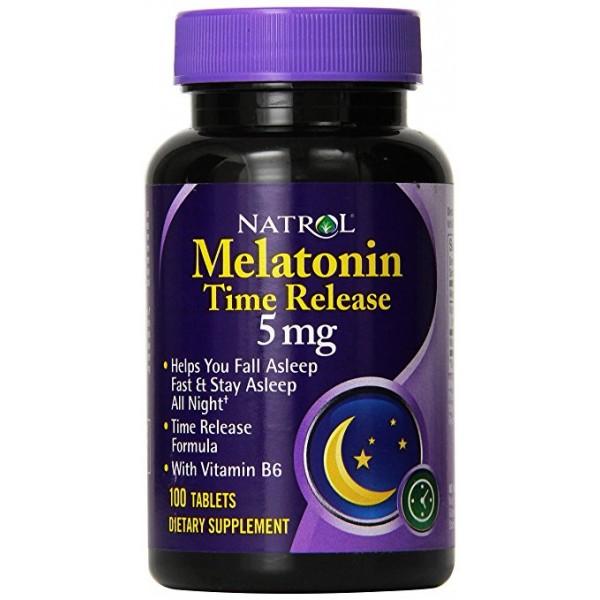 NATROL Melatonin 5mg - Timed Release