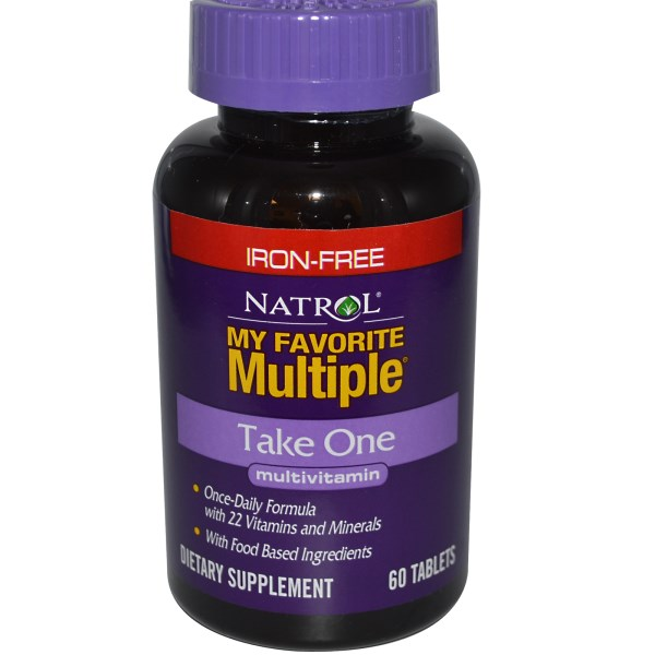 NATROL My Favorite Multiple without Iron