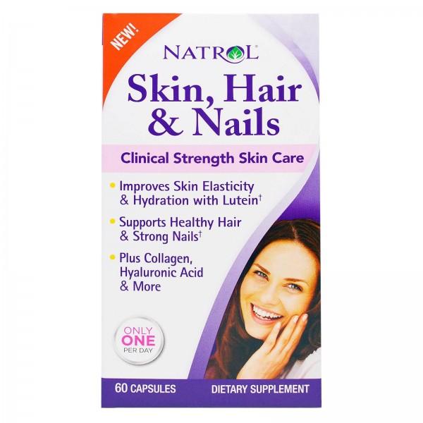 NATROL Skin Hair Nails + Collagen
