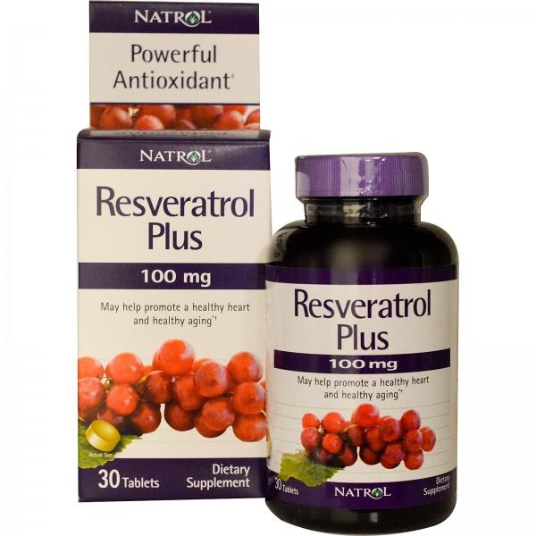 NATROL Resveratrol Plus 100mg