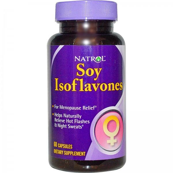 NATROL Soy Isoflavones 50mg
