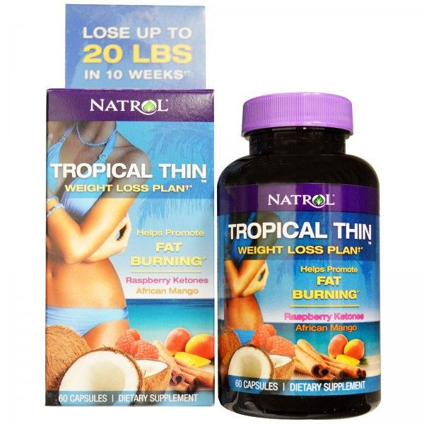 NATROL Tropical Thin - Weight Loss Plan