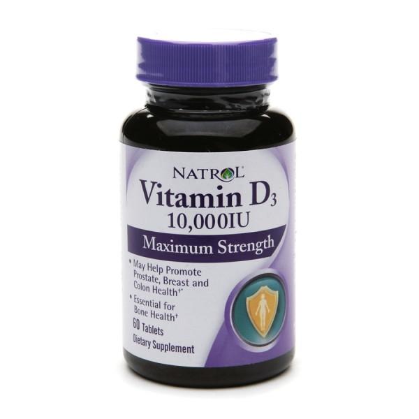 NATROL Vitamin D3 10,000IU